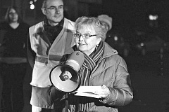 FILE PHOTO - Former Gov. Barbara Roberts, at a recent event at the new Sellwood Bridge.