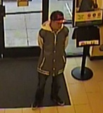 PHOTO COURTESY: OCPD - OCPD Captain Shaun Davis said this suspect entered the bank and demanded money from the teller on March 21.