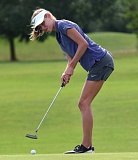 REVIEW FILE PHOTO - Lake Oswego's Cami Dozois (shown here from 2016) shot a 74 to help the Lakers win the first Three Rivers League tournament of the season, held Tuesday at Chehalem Glenn Golf Course in Newberg.