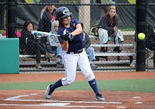 REVIEW/NEWS PHOTO: JIM BESEDA - Canby's Savannah Tuli went 1-for-3 with a two-run double in Thursday's 3-1 non-conference softball win over Milwaukie at Hood View Park.