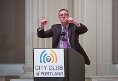 PORTLAND TRIBUNE: JONATHAN HOUSE - Mayor Ted Wheeler was enthusiuastic about the city of Portland in his State of the City speech.