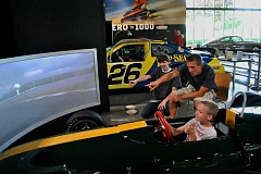 SUBMITTED PHOTOS - World of Speed has three race car simulators, including a Lotus, Indy Car and NASCAR simulator.