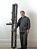 COURTESY OF FLUTE FAIR - Flutist Peter Sheridan, an expert in extra-low-range flutes, will offer master classes and a performance at the event.
