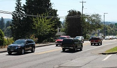 TIDINGS FILE PHOTO - West Linn is one of several cities in the Portland metro area that has seen an uptick in traffic problems over the years.