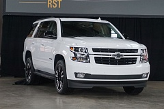 PORTLAND TRIBUNE: JEFF ZURSCHMEIDE - The 2018 Chevrolet Tahoe RST will feature one of GM's most powerful engines, a 6.2-liter V8 rated at 420 horsepower and 460 pound-feet of torque. Optionally, RST buyers can also order a customized Borla exhaust system that adds up to 10 additional horsepower.