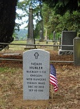 SUBMITTED PHOTOS - Milwaukie Pioneer Cemetery is the final resting place of Noah Hubler, Milwaukie's first policeman.